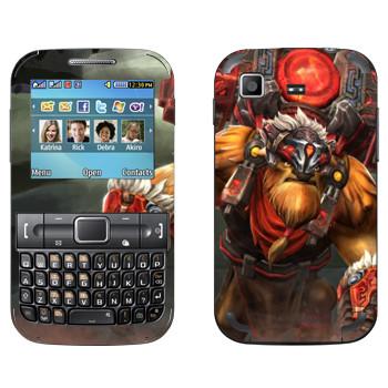 Виниловая наклейка «Землекрушитель - Dota 2» на телефон Samsung C3222 Duos