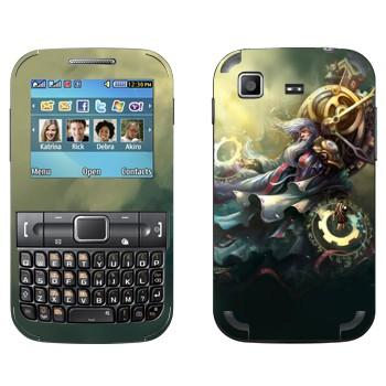 Виниловая наклейка «Зилеан - Хранитель Времени» на телефон Samsung C3222 Duos