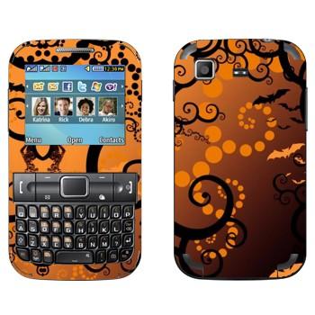 Виниловая наклейка «Хэллоуин тема» на телефон Samsung C3222 Duos