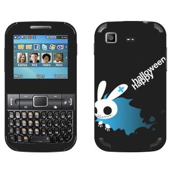 Виниловая наклейка «Хэллоуиновский кролик» на телефон Samsung C3222 Duos