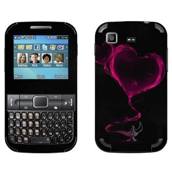Виниловая наклейка «Валентинка из лампы Алладина» на телефон Samsung C3222 Duos