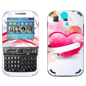 Виниловая наклейка «Валентинки - День святого Валентина» на телефон Samsung C3222 Duos