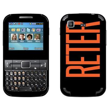 Виниловая наклейка «Reter» на телефон Samsung C3222 Duos