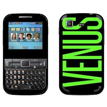 Виниловая наклейка «Venus» на телефон Samsung C3222 Duos