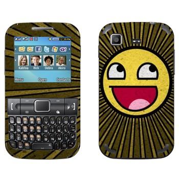 Виниловая наклейка «Epic smiley» на телефон Samsung C3222 Duos