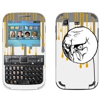 Виниловая наклейка «Мем NO» на телефон Samsung C3222 Duos