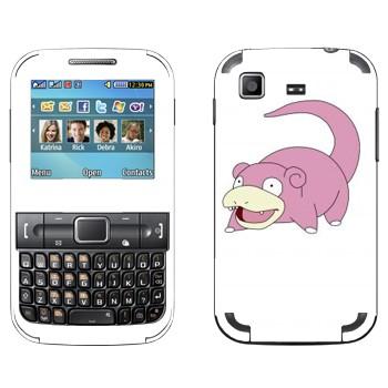 Виниловая наклейка «Слоупок» на телефон Samsung C3222 Duos