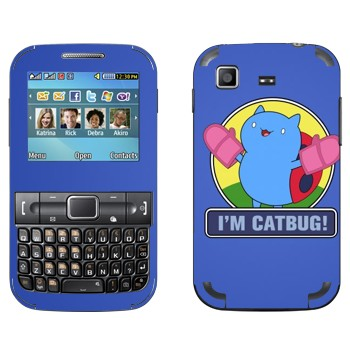 Виниловая наклейка «Catbug - Bravest Warriors» на телефон Samsung C3222 Duos
