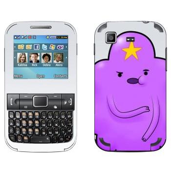 Виниловая наклейка «Oh my glob  - Принцесса Lumpy» на телефон Samsung C3222 Duos