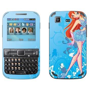 Виниловая наклейка «Блум - WinX» на телефон Samsung C3222 Duos