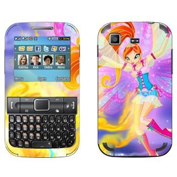 Виниловая наклейка «Блум - Winx Club» на телефон Samsung C3222 Duos