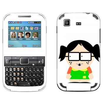 Виниловая наклейка «Девочка - Южный Парк» на телефон Samsung C3222 Duos