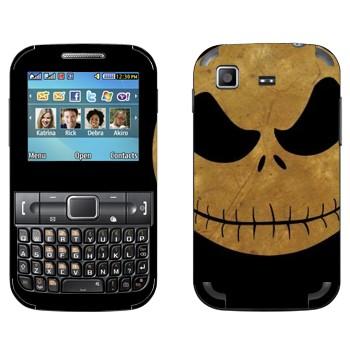 Виниловая наклейка «Джек - Кошмар перед рождеством» на телефон Samsung C3222 Duos