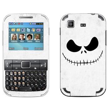Виниловая наклейка «Джек повелитель тыкв» на телефон Samsung C3222 Duos