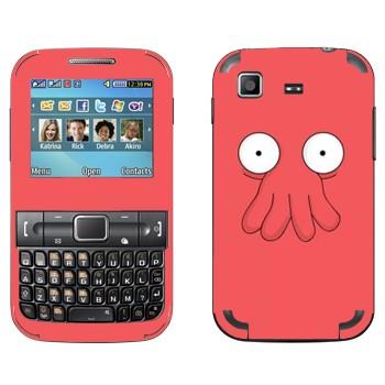Виниловая наклейка «Доктор Зойдберг - Футурама» на телефон Samsung C3222 Duos