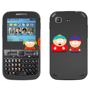 Виниловая наклейка «Друзья - Южный Парк» на телефон Samsung C3222 Duos