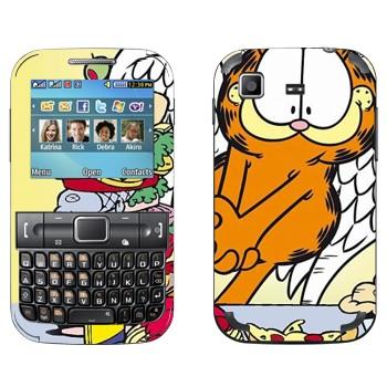 Виниловая наклейка «Гарфилд» на телефон Samsung C3222 Duos