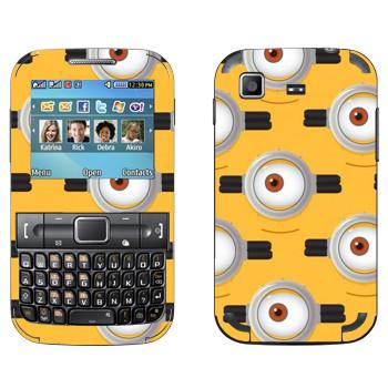 Виниловая наклейка «Глаз Миньона» на телефон Samsung C3222 Duos