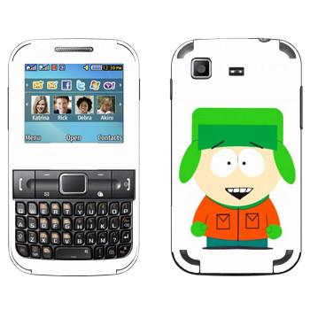 Виниловая наклейка «Кайл - Южный Парк» на телефон Samsung C3222 Duos