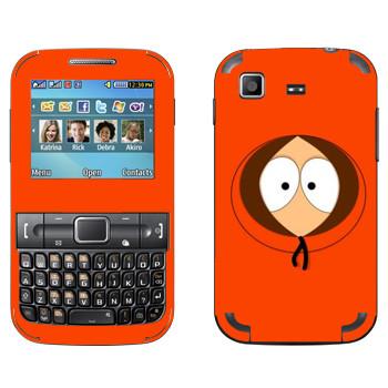 Виниловая наклейка «Кенни - Южный Парк» на телефон Samsung C3222 Duos