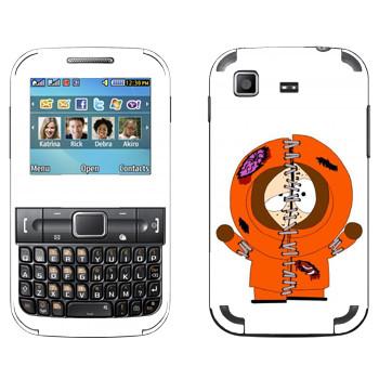 Виниловая наклейка «Кенни потрепанный - Южный Парк» на телефон Samsung C3222 Duos