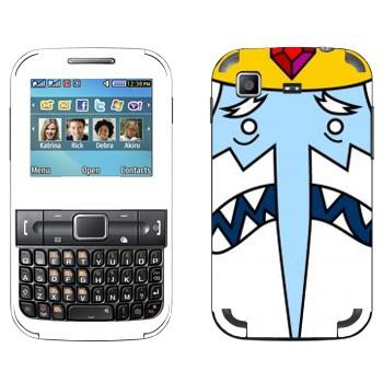 Виниловая наклейка «Ледяной Король - Adventure Time» на телефон Samsung C3222 Duos