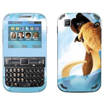Виниловая наклейка «Манфред - Ледниковый период» на телефон Samsung C3222 Duos