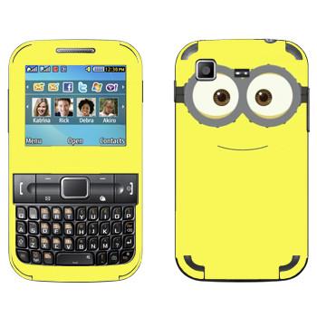 Виниловая наклейка «Миньон» на телефон Samsung C3222 Duos