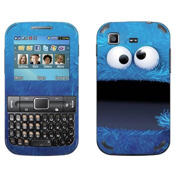 Виниловая наклейка «Печеньковый монстр» на телефон Samsung C3222 Duos