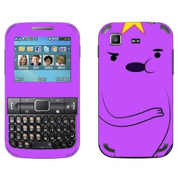 Виниловая наклейка «Принцесса Lumpy» на телефон Samsung C3222 Duos