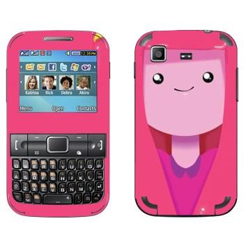 Виниловая наклейка «Принцесса Бубльгум - Adventure Time» на телефон Samsung C3222 Duos