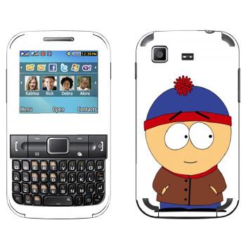 Виниловая наклейка «Стэн - Южный Парк» на телефон Samsung C3222 Duos