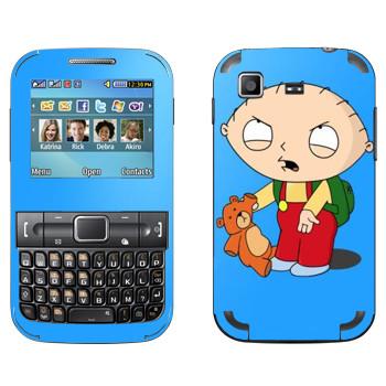 Виниловая наклейка «Стьюи Гриффин» на телефон Samsung C3222 Duos