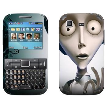 Виниловая наклейка «Виктор Ван Дорт - Труп невесты» на телефон Samsung C3222 Duos