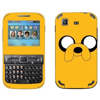 Виниловая наклейка «Волшебный пёс Jake» на телефон Samsung C3222 Duos