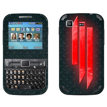 Виниловая наклейка «Skrillex» на телефон Samsung C3222 Duos