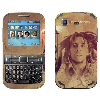 Виниловая наклейка «Боб Марлей» на телефон Samsung C3222 Duos