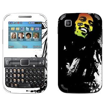 Виниловая наклейка «Боб Марли» на телефон Samsung C3222 Duos