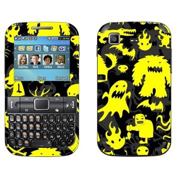 Виниловая наклейка «Желтая нечисть» на телефон Samsung C3222 Duos