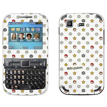Виниловая наклейка «Маленькие геймеры» на телефон Samsung C3222 Duos