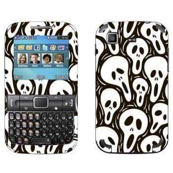 Виниловая наклейка «Маски Крик» на телефон Samsung C3222 Duos