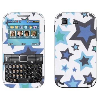 Виниловая наклейка «Звезды» на телефон Samsung C3222 Duos