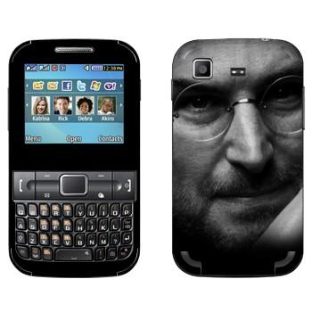 Виниловая наклейка «Стив Джобс» на телефон Samsung C3222 Duos