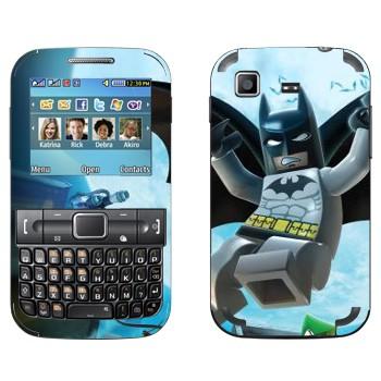 Виниловая наклейка «Бэтмен и Робин - Лего» на телефон Samsung C3222 Duos