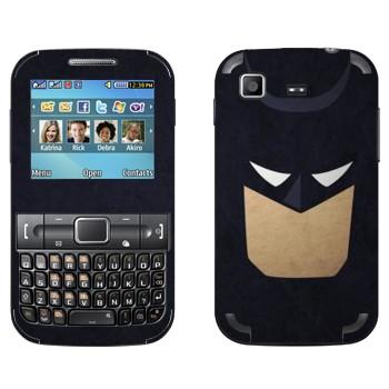 Виниловая наклейка «Бэтмэн рисованный» на телефон Samsung C3222 Duos