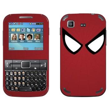 Виниловая наклейка «Человек-паук глаза» на телефон Samsung C3222 Duos