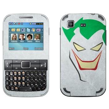 Виниловая наклейка «Джокер рисованный - Бэтмен» на телефон Samsung C3222 Duos