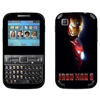 Виниловая наклейка «Железный человек 3 в костюме» на телефон Samsung C3222 Duos
