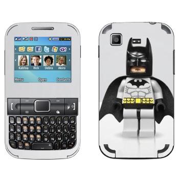 Виниловая наклейка «Лего-Бэтмен» на телефон Samsung C3222 Duos