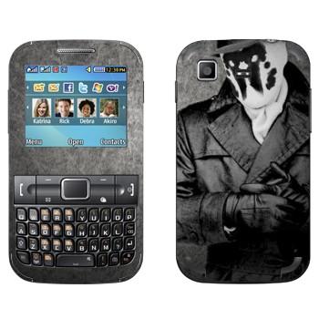 Виниловая наклейка «Роршах  - Хранители» на телефон Samsung C3222 Duos